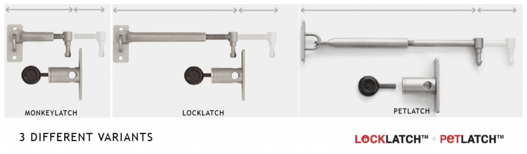 Versatile Latch Locks